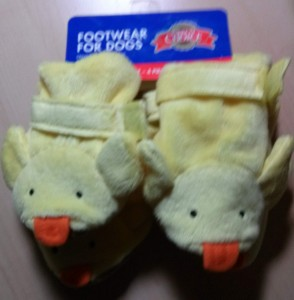 Duck Boots for Dogs