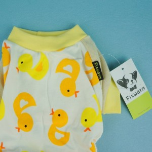 Duck Jumpsuit for dogs