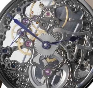 mechanical skeleton watch