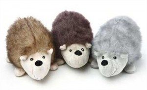 Hedgehogs with a huge creepy smile