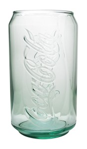 Coke Glass Can