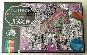 Coloring Jigsaw Puzzle